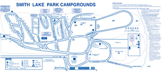 Smith Lake Park Map